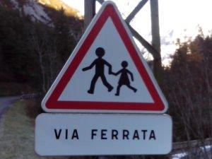 La via ferrata, un jeu d'enfant(s)